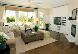 contemporary living room in earth tones big living rooms