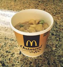 mcdonalds menu business travel life2 fruit and maple oatmeal with apples 290 calories