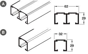 sliding wardrobe doors detail. Modren Doors Top Track For Sliding Wardrobe Doors Hfele System With Doors Detail A