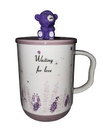 <b>Кружка</b> c крышкой и ложкой Great <b>Coffee Мишка</b>-Прованс 400 мл ...