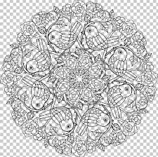 secret garden an inky treasure hunt and colouring book coloring book mandala the enchanted forest png