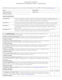 Performance Appraisal Format Sample Planning Template Word Forms