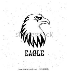 bald eagle template eagle head logo template cartoon eagle stock vector 2018 576303454