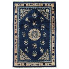 antique peking chinese rug handmade oriental rug blue ivory unique oriental rugs chicago il