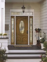 pella entry doors with sidelights. Pella Architect Series Premium-grain Fiberglass Entry Door With Castile Decorative Glass. Doors Sidelights R