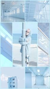 Light Blue Aesthetics Collage ...