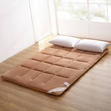 mattress cushion. sleeping rug tatami mattress pad folded floor carpet 4cm thickness lazy bed mats double cushion for bedroom and office-in mattresses from furniture on o