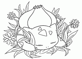 Small Picture Bulbasaur Coloring Page Coloring Home
