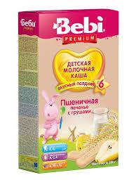 Детское питание, купить <b>молочные каши</b>: ассортимент <b>Bebi</b> ...