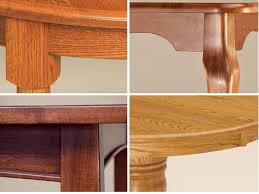 hardwood as or skirting on tables chairs
