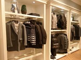 environmental men s garment rack garment showroom display for clothes