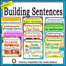 Where To Buy Pocket Charts Building Sentences Pocket Chart Activities Bundle