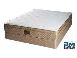 twin mattress set. Bella Euro Top Twin Mattress Set - Diamond Twin Mattress Set N