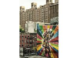 us sailor kissing a nurse new york graffiti manhattan highline park new york