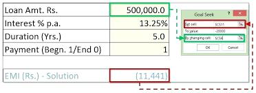 Excel 2013 Goal Seek Udemy Excel 2013 Advanced Macro With Goal Seek