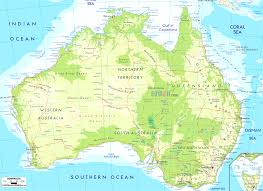 full map of australia major tourist attractions maps entrancing