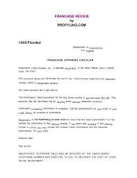 1800 Flooded Franchise Disclosure Document