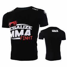 2018 New Legalize Short sleeves Russia T shirt Men <b>MMA fight</b> ...