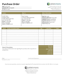 Free Purchase Order Template Excel Download Adorable 48 Free Purchase Order Templates Forms Samples Excel Word