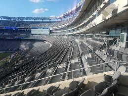 Giants Metlife Seating Chart Giants Jets Club Seating At Metlife Stadium