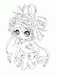 Cute Chibi Coloring Pages Free For Kids 21 On Anime Coloring Pages