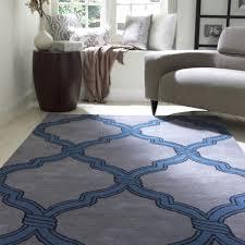 amazoncom nuloom handmade moroccan trellis wool shag rug  feet