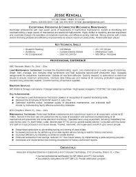 Maintenance Supervisor Resume Lovely Maintenance Supervisor Resume