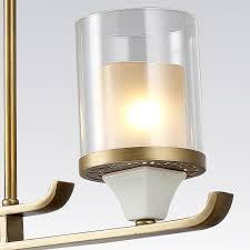 metal chandelier frame elegant candle pendant lamp