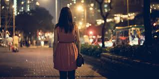 Image result for walking at night
