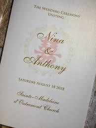 Wedding Ceremony Brochure Program Booklet Wedding Program Booklet Ceremony Booklet Program Book Wedding Program Book Church Wedding Booklet Church Wedding Book