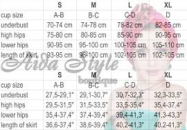 Aida Style Size Chart For Aida Style Belly Dance Costumes