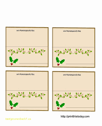 christmas placecard templates top result table placement cards templates elegant place cards
