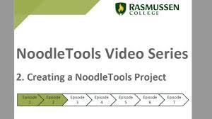 Noodletools Home Noodletools Rasguides At Rasmussen College