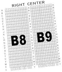 The Muny St Louis Mo Seating Chart Section B8 B9 The Muny