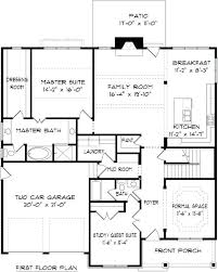 2 story house plans 2 story house plan with first floor master best of 2 story