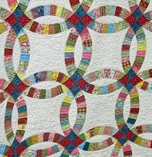 136 best DOUBLE WEDDING RING QUILTS images on Pinterest | Double ... &