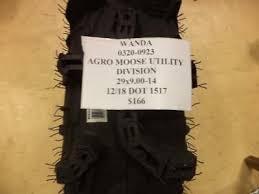 1 NEW <b>WANDA</b> AGRO MOOSE UTILITY DIVISION 29 9 14 TIRE WO ...