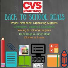 Cvs Back To School Deals Aug 7 13 Stock Your Locker Deals