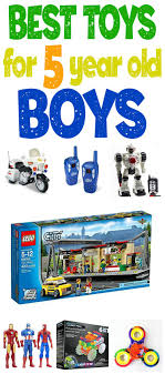 whatre the best toys for 5 year old boys