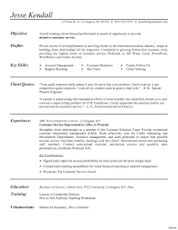 Resume Objective For Customer Service Alexandrasdesign Co