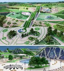 Дизайн среды Магистратура Уральский архитектурно художественный  Бабушкина К Р Парк отдыха