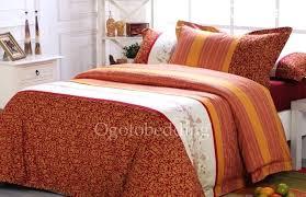 burnt orange comforter sets king size