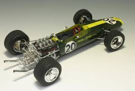 Team Lotus type 49 1967 model kit by Ebbro