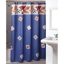 sports shower curtain x vintage sports shower curtain
