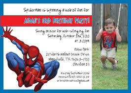 Spiderman Birthday Invitation Templates Free Simple Spiderman Free Printable Birthday Invitation