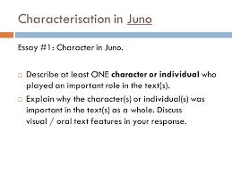 characterisation in juno characterisation in juno list the  characterisation in juno essay 1 character in juno
