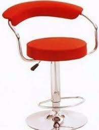 hydraulic bar stools. Emel Hydraulic Gas Lift Bar Stool -Red Leather Stools