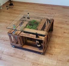 wine crate furniture. diy weinkistentisch wine crate table furniture
