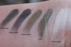 sephora collection mild to wild khaki colorful 5 eyeshadow palette review16