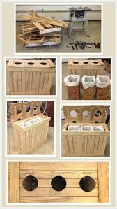 Kitchen Recycling Center 17 Best Ideas About Recycling Bins On Pinterest Kitchen